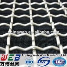 2x2 Crimped Wire Mesh (1.2-3.0mm wire diameter)