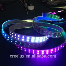smart controll dc12v 600leds 5M 1812 pixels magic led ribbon lighting black pcb