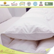 Anti allergy down and feather comforter