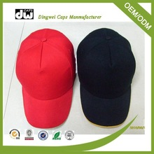 Promotion cotton baseball cap hat headwear with embroidery promotion baseball hats