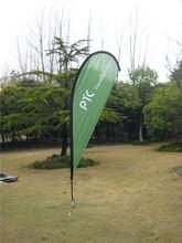 2014 new style Custom printed custom advertising outdoor teardrop flag