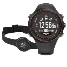 5 ATM waterproof digital GPS running watches for men, GPS automatic compass watch