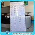 Anpassen wand gläser display halter, weiß sonnenbrille auslage für shop, acryl ausstellung bis sonnenbrille