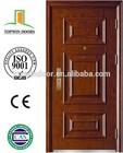 Unique and Beautiful Design Metal Door Single Leaf Door Security Door