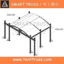 On sale aluminum lighting truss,sound truss system,concerto sistema fardo do telhado