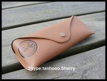 Eco-friendly Classic Designer Felt Glasses Sunglasses Case leather sunglasses case