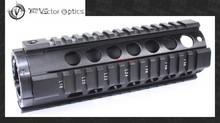 Vector Optics Tactical T-Series Free Float 7 Inch Carbine Handguard Quad Picatinny Rail Mount System fit AR15 M4 Rifle Guns