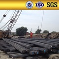 Astm hrb400 a615 construcción lista de material de hierro deformado/barra de acero