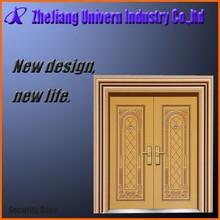 steel door double leaf/steel security door/metal iron door