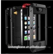 Gorilla Glass Aluminum Metal Shockproof Waterproof Dustproof Case for Iphone 6