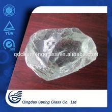 Crystal White Slag Glass Rocks Chinese Novel Product