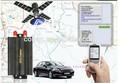 Veículo gps tracker tk103a obter a localização via celular e plataforma de servidor
