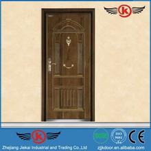 JK-A9041 JieKai steel security door / round top armored door / villa entry door