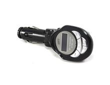 MP3 WMA Wireless FM Modulator Radio Transmitter (Black)