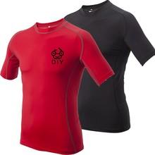 wholesale polyester short sleeve cheap plain t-shirts