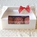 Embalaje papel cartón cajas para pasteles