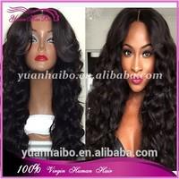 Yuanhaibo Wigs wholesale 100 brazilian virgin hair full lace wigs loose wave black women