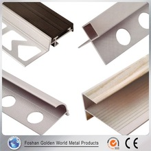 Import China Goods Polished Flexible Tile Trim Aluminium