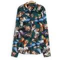 Impressão borboleta tops mulheres, padrão simples feminino camiseta d35969a