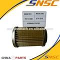 China de alta calidad del filtro hidráulico; sd32 shantui bulldozer sd16 piezas, 195-13-13420; aceite de filtro de aspiración, shantui hidráulica del filtro