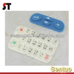 Epoxy Fashion Silicone Button Made In China