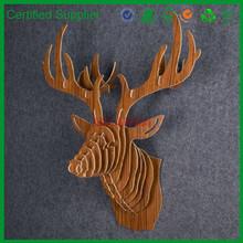 new design wonderful decorative deer head decoration