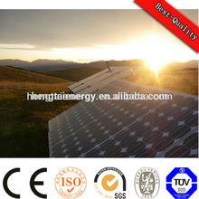 61215IEC TUV CE hitech black module poly solar panel 150w 12v in pakistan