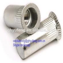 m6 aluminum countersunk head closed insert nut
