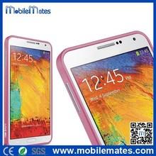 Wholesale LOVE MEI Hippocampal Buckle Metal Bumper Case for Samsung Galaxy Note 3 Note 4 S5 S4 S3 Aluminum Bumper Cover