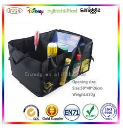 Convenient practical Car trunk organizer Car Organizer Bag,black car boot organizer bag