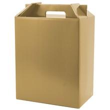 folding cardboard cake box with handle