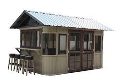 Aluminium gazebo retractable awning with awning, Pavilion, Canopy,Gazebo