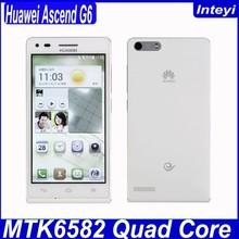 Original huawei ascend G6 1GB RAM 4GB ROM inch 960x540 1.2GHz 8MP GPS Bluetooth WCDMA900/2100Mhz 2000mAh Huawei G6