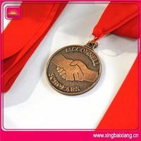 antique copper catholic religious commemorative medals