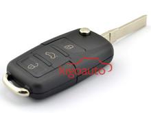 Flip Remote key for VW 3 button HU66 434Mhz key