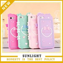 Personalized Radiation-proof silicone mobile phone cover silica gel case for iphone 6 plus case