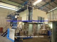 polyester fiber thread making machinery