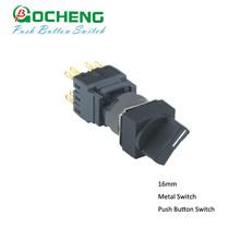OMRON type 12pins self return seletor switch