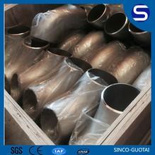 Factory price 304 316 tuyaux en acier coude 3 pouces