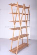 hot sale high quality wooden design Bookrack Bookcases shenzhen