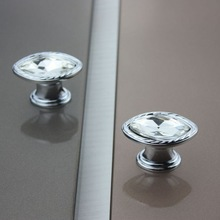 wholesale knobs and pulls crystal cabinet knob