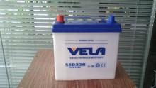 55D23R/55D23L/12V55AH Japanese Standard JIS lead acid dry battery for truck