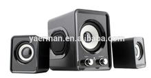 poweful multimedia 2.1 channel computer speaker subwoofer