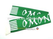 printed satin world cup sports team football scarf