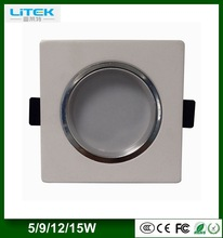 Modern australian nz electricals standards Great value 12W square led recessed downlight,led ceiling downlight, led down Light