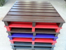 customized two-way into fork steel pallet for industry