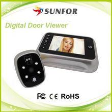 2012 hot sale night vision digital door peephole camera