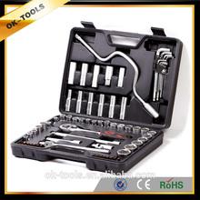 OK-tools 68PCS car requirement socket tool sets