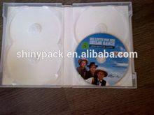 Economic most popular multi dvd case/dvd box for 7-8 disc