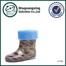 children camo rain boot wholesale rain boots C-705